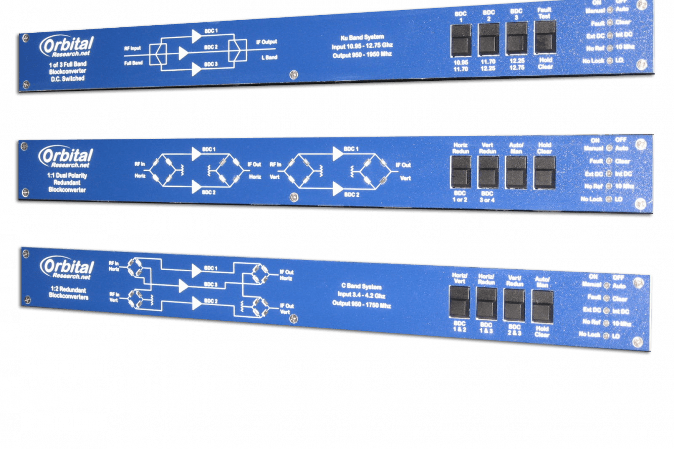 Satellite Communication Rack-mounted DC Power Supply for Low Noise Block Downconverter or BUC